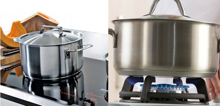 Dùng Nồi Cho Bếp Từ Đun Trên Bếp Gas, Liệu Có Nên?